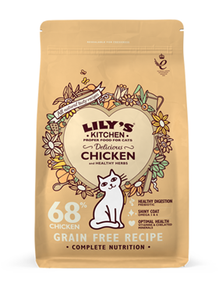 Lily'S Kitchen Delicious Chicken Complete Dry Food For Cats 800g
