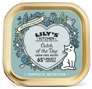 Lily'S Kitchen Catch Of The Day For Cats 85g