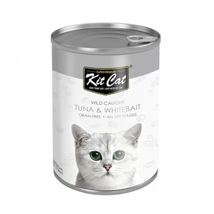 Kit Cat - Wild Caught Tuna With Whitebait 400g