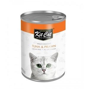 Kit Cat - Wild Caught Tuna With Prawn 400g