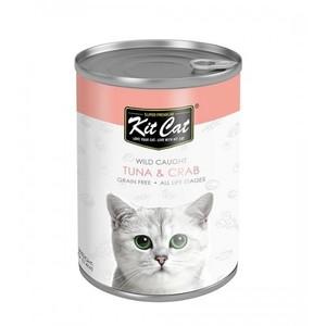 Kit Cat - Wild Caught Tuna With Crab 400g