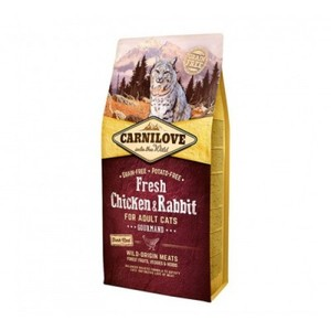 Carnilove Fresh Chicken & Rabbit For Adult Cats 2kg