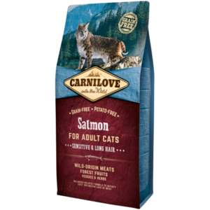 Carnilove Salmon For Adult Cats 400g