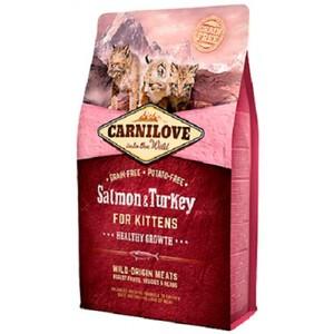 Carnilove Salmon & Turkey For Kittens 2kg