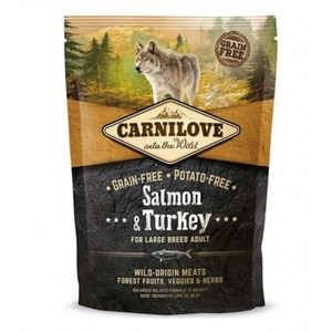 Carnilove Salmon & Turkey For Large Breed Adult Dogs 1.5kg