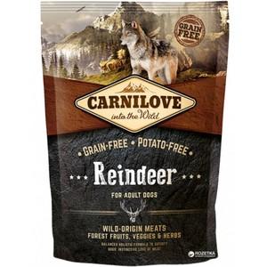 Carnilove Reindeer For Adult Dogs 12kg