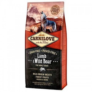 Carnilove Lamb & Wild Boar For Adult Dogs 12kg