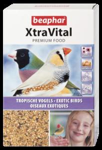 Beapher Xtravital Tropical Bird Feed New Formula 500g