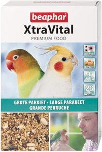 Beapher Xtravital Large Parakeet Feed New Formula 500g