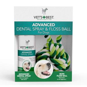 Advanced Dental Spray With Rope Floss Ball Kit 120ml