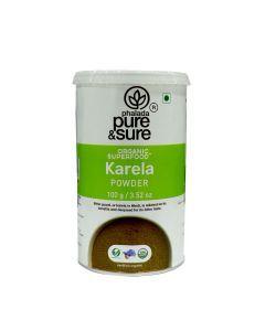 Pure And Sure Org Karela Powder 100g