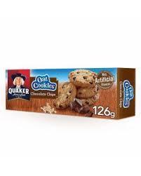 Quaker Oats Cookies Chocolate 126g