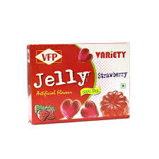 Variety Jelly Strawberry 90g