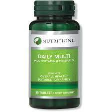 Nutritionl Multivitamin Tabs 30s