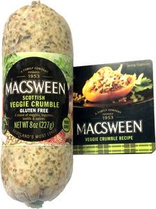 Macsween Veggie Crumble Scot Gluten Free 227g