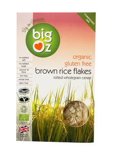 Big Oz Brown Rice Flakes Gluten Free Organic 500g