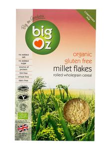 Big Oz Millet Flakes Gluten Free Organic 500g