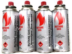 Butane & Propane Gas 4x220g