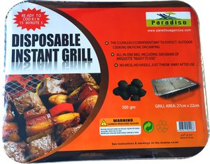 Paradiso Instant Grill Small 1pc