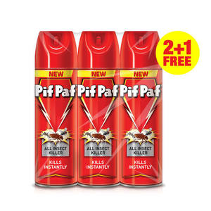 Pifpaf All Insect Killer 3x300ml