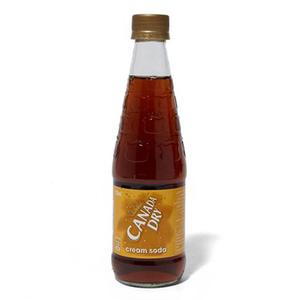 Canada Dry Cream Soda Bottle 330ml