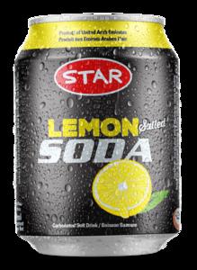 Star Lemon Soda Can 300ml