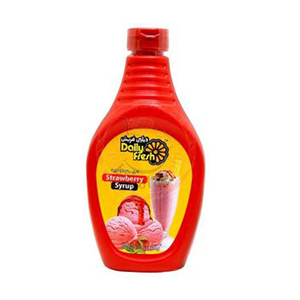 Daily Fresh Syrup Strawberry 22oz