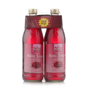 Natco Rose Syrup Twin Pack pack