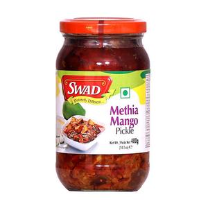 Swad Methia Mango Pickle 400g