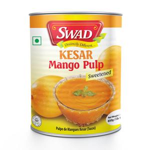 Swad Mango Pulp Kesar 850g