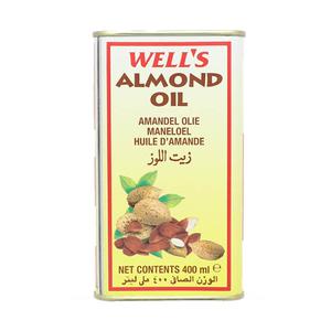 Wells Almond Ed Oil Tin 400ml