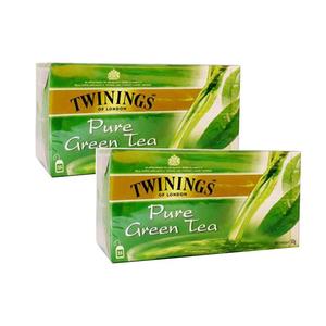 Twinings Pure Green Tea 2x25teabags