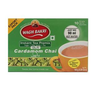 Wagh Bakri Instant Cardamom Tea 140g