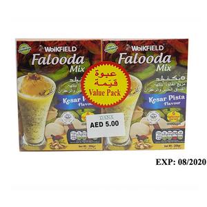 Weikfield Falooda Mix Kesar Pista Flavour 2x200g