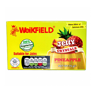 Weikfield Jelly Crystals Pineapple 75g