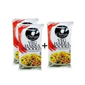 Chings Noodles Hakka Veg 3x150g