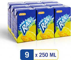 Rani Juice Mango 9x250ml