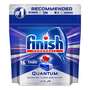 Finish Dishwasher Tablet Quantum 16s