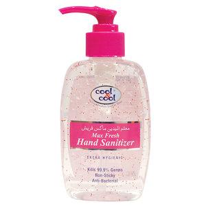 Cool & Cool Hand Sanitizer Gel Max Fresh 250ml