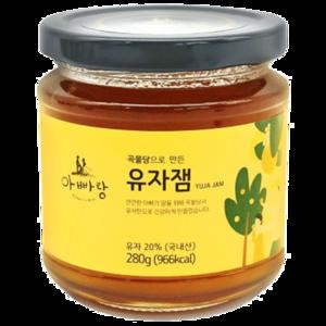 Father's Hill Sugar-Free Citron Yuju Jam 280g
