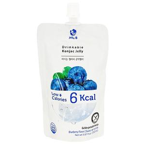 Jelly. B Drinkable Konjac Jelly Blueberry Flavor 150ml
