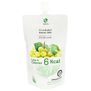 Jelly. B Drinkable Konjac Jelly Green Grape Flavor 150ml