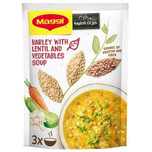 Maggi Barley With Lentil & Vegetables Soup 75g