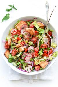 Fattoush Salad 1pc