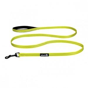 Alcott Small Yellow Visibility  Dog Leash 182x1.5cm
