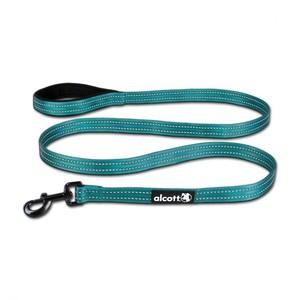Alcott Reflective Cushioned Handle Dog Leash Small Blue 6ftpc