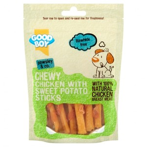 Good Boy Stick Dog Treats with Natural Chicken & Sweet Potato 1pc