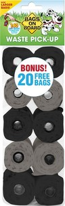 Bags on Board Waste Pickup Bags for Dogs 140 per pack