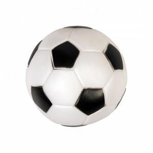 Duvo Plus Black & White Squeaky Football Dog Toy 1pc