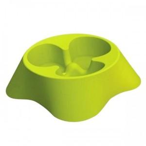 Farm Company Medium Yellow Anti-Splash Slow Feeding Pet Bowl 0.6L